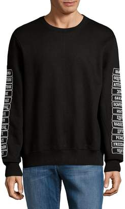 Eleven Paris Men's Graphic Crewneck Sweater