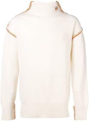Loewe Blanket Stitch turtleneck sweater