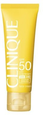 Clinique Sun SPF 50 Face Cream, 1.7 fl oz