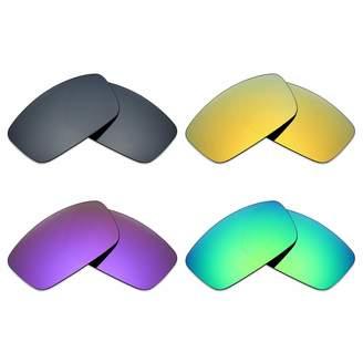 607a4dc655 Spy Optic Mryok 4 Pair Polarized Replacement Lenses for Logan Sunglass -  Black IR 24K