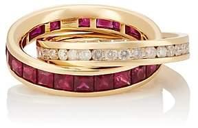 Roberto Marroni Women's Carre Ring - Gold