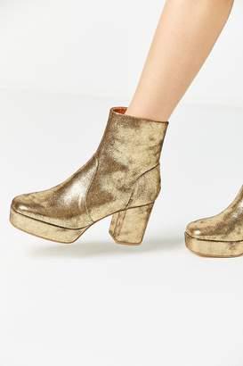 Urban Outfitters Olivia Metallic Platform Boot