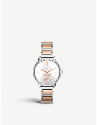 Michael Kors MK3709 Portia stainless steel watch