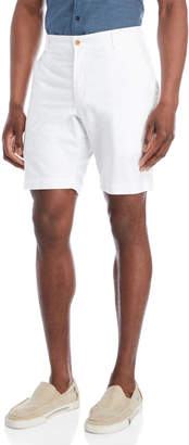 Bills Khakis White Summer Oxford Shorts