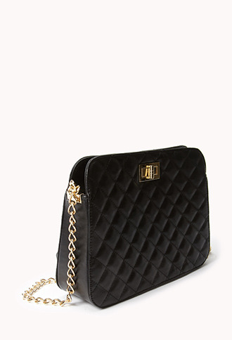 Forever 21 Chic Quilted Crossbody