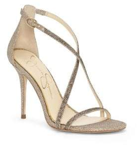 Jessica Simpson Annalesse Crisscross-Strap Stiletto Sandals