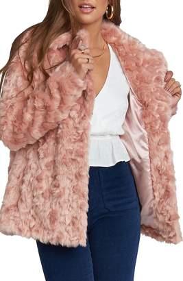 Show Me Your Mumu Faux Fur Jacket