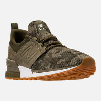 New Balance Men's 574 Sport Camo Casual Shoes