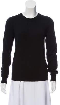 Burberry Cashmere-Blend Crew Neck Sweater