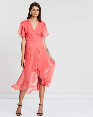 Atmos & Here Verona Wrap Dress