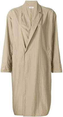 Plantation double-breasted trench coat