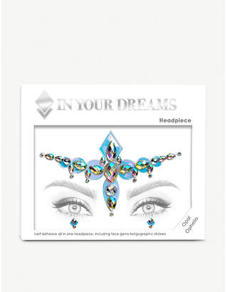 Ophelia IN YOUR DREAMS Opal face gem and holographic stickers