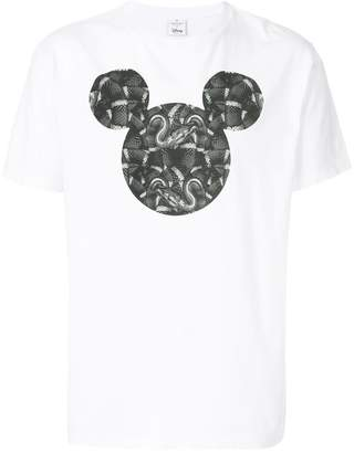 Marcelo Burlon County of Milan Mickey Mouse Snakes T-shirt
