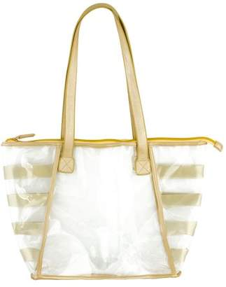 clear Karma Gold Rush Tote, Pink