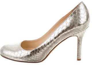 Kate Spade Kate Spade New York Metallic Embossed Pumps