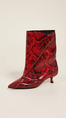 MSGM Fold Boots