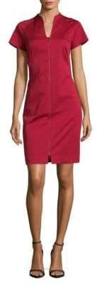 Lafayette 148 New York Lottie Splitneck Dress