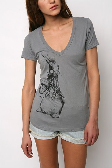 White Rabbit V Neck