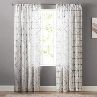Sonoma Goods For Life SONOMA Goods for Life Batik Embroidery Sheer Window Curtain