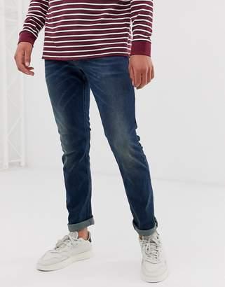 Diesel Thommer stretch slim fit jeans in 084BU dark wash