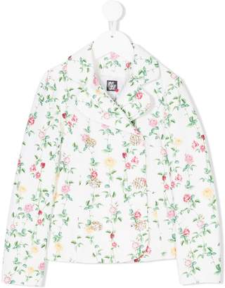 Love Made Love floral print jacket