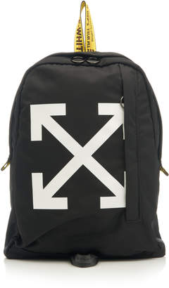 0d046d623461 Off-White Printed Canvas Backpack