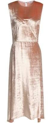 Tome Metallic Chenille Midi Dress