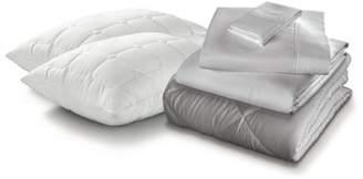 pureCare Luxury Microfiber Sleep Kit Ensemble: Pillows-Sheets-Comforter