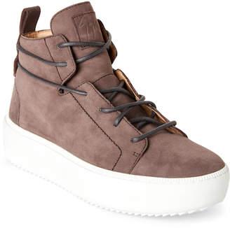 Giuseppe Zanotti Zola Suede Chunky Sole Sneakers