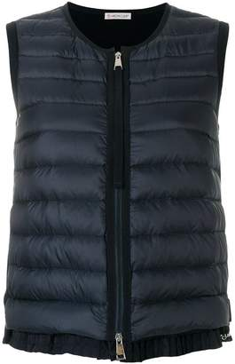 Moncler padded sleeveless gilet