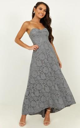 Showpo Show me the light dress in blue - 4 (XXS) Bridesmaid