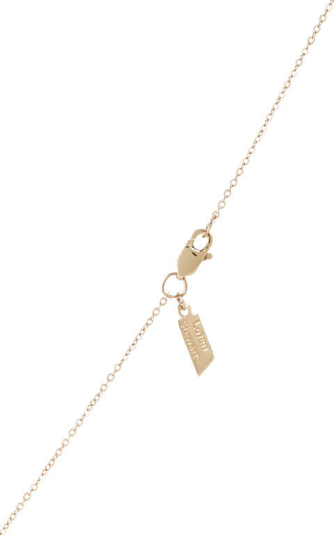 Loren Stewart Women's Gold Baby Bar Pendant Necklace