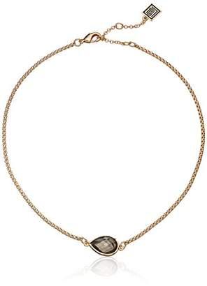 Laundry by Shelli Segal Single Stone Choker Necklace