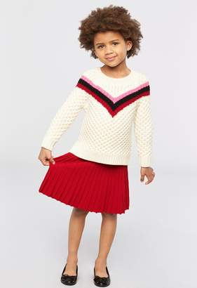 Milly Minis MillyMilly Chevron Stripe Sweater