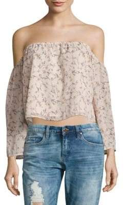 Lucca Couture Off-The-Shoulder Neckline Top