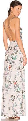 MAJORELLE Cubano Maxi Dress in Cream $210 thestylecure.com