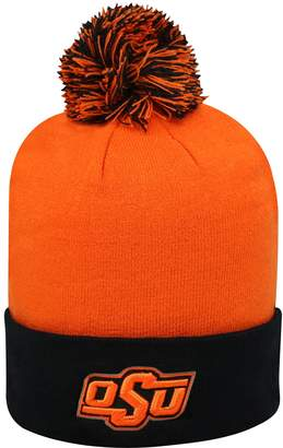Top of the World Adult Oklahoma State Cowboys Pom Knit Hat