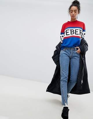 Iceberg Twisted Seam Skinny Jeans