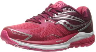 Saucony Women's Ride 9 Running Shoes, Pink/Berry