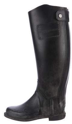 Burberry Knee-High Rain Boots