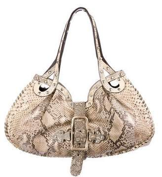 Jimmy Choo Python Shoulder Bag