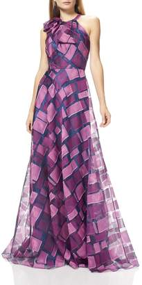 Theia Sleeveless Halter Gown $1,295 thestylecure.com
