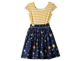 fiveloaves twofish Space Maddy Dress (Toddler/Little Kids)