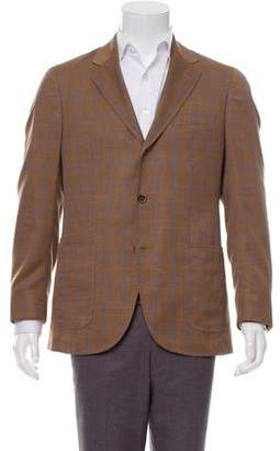 Luciano Barbera Deconstructed Wool Suit
