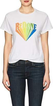 RE/DONE Women's The Classic Logo Cotton T-Shirt