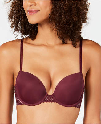 B.Tempt'd Tied in Dots Contour Lace Bra 953228