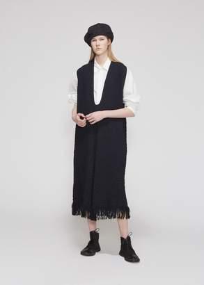 Yohji Yamamoto Y's by Fringe Hem Dress