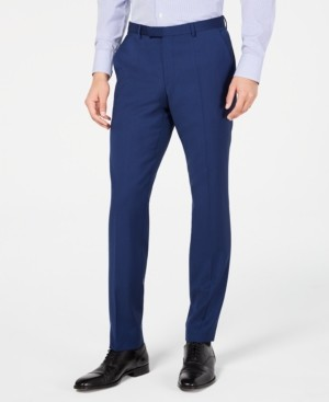 HUGO BOSS Hugo by Men's Slim-Fit Stepweave Suit Pants