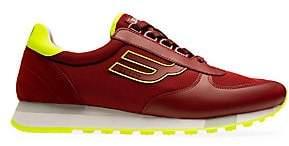 Bally Men's Galaxy Gavino Leather & Mesh Low-Top Sneakers
