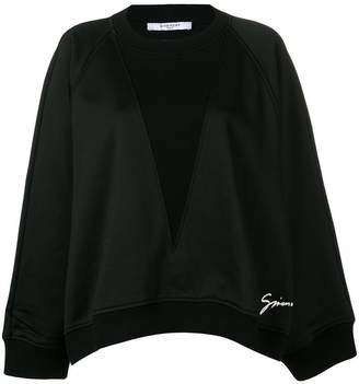 Givenchy Bat Sleeves sweatshirt
